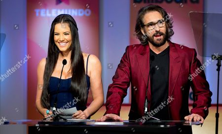 Gaby Espino, Miguel Varoni Gaby Espino and Miguel Varoni announce the finalists in Premios Billboard de la Musica Latina 2013 during a tv show in Miami, . Don Omar has done it again. After leading the 2012 list of finalists for the Billboard Latin Music Awards with 16 finalist nods, he returns in 2013 with 18 nods, including Artist of the Year; Social Artist of the Year and Streaming Artist of the Year. Following with 12 nods is bachata star Romeo Santos, while urban duo Wisin & Yandel and the late Jenni Rivera are tied with 11 nods each
