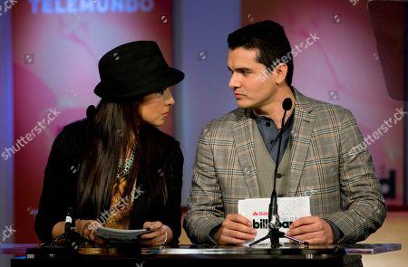 Editorial photo of Premios Billboard de la Musica Latin 2013, Miami, USA