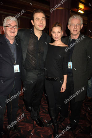 Kevin Cahill, David Walliams, Kate Moss and Richard Curtis