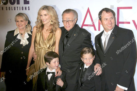 Editorial image of 'An Evening with Larry King', Beverly Hilton Hotel, Los Angeles, America - 21 Nov 2006