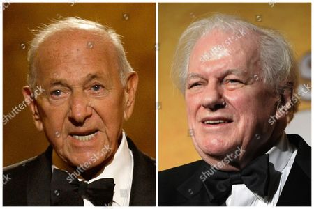 """S shows, Jack Klugman, left, speaking at the 62nd Annual Tony Awards in New York on June 15, 2008 and Charles Durning, right, during the 14th Annual Screen Actors Guild Awards in Los Angeles. Klugman and Durning, both of whom died, Klugman at 90 in Los Angeles, Durning at 89 in New York, spent storied careers building catalogues of roles that classed them indisputably as """"character actors"""