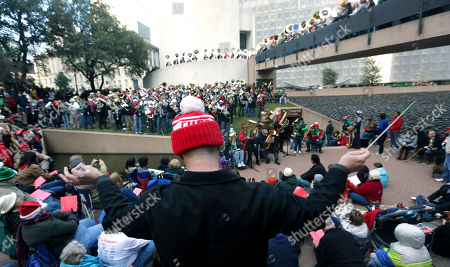 Editorial picture of Tubachristmas, Dallas, USA