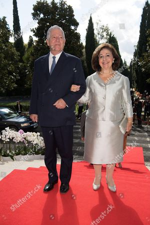 Crown Prince Alexander and Crown Princess Katherine