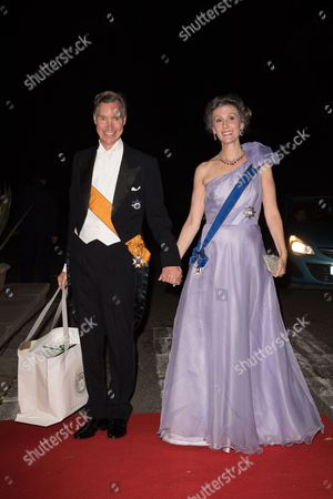 Hereditary Grand Duke Guillaume of Luxembourg and Princess Sibilla of Luxembourg