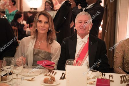 Princess Antonella de Orleans-Borbon and Crown Prince Alexander of Serbia