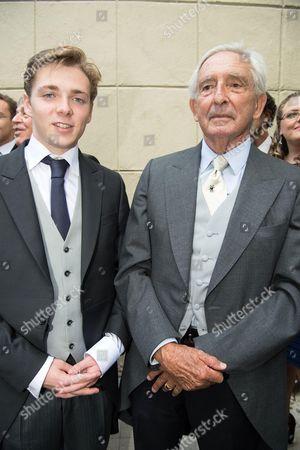 Prince Charles Murat and Prince Michael of Greece