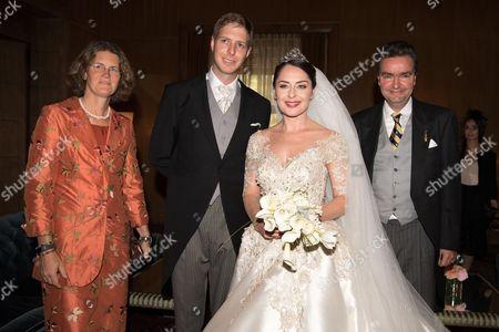 Crown Prince Leka II and Princess Elia