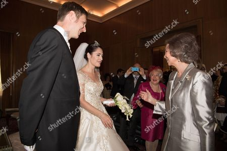 Crown Prince Leka II, Princess Elia and Former Queen Sofia