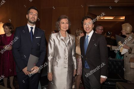 Crown Prince Leka Zogu II and his wife Princess Elia
