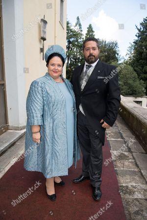 Grand Duchess Maria of Russia and Grand Duke George of Russia