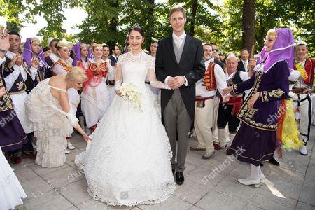 Princess Elia and Crown Prince Leka II