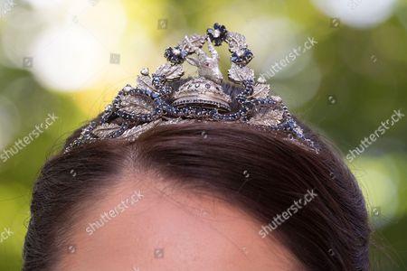 Princess Elia tiara detail