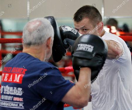 Editorial image of Adamek Boxing, Jersey City, USA