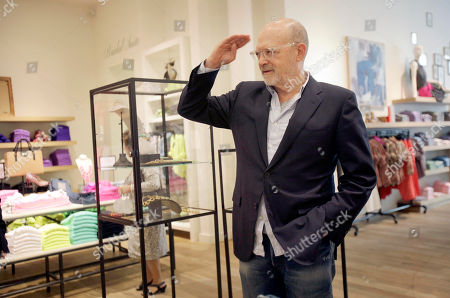 """Mickey Drexler This photo shows J. Crew CEO Millard """"Mickey"""" Drexler greeting employees at a J. Crew store in New York. Under his leadership, J. Crew has carved out a place in the fashion hierarchy that's just between trendsetter and accessible, and Drexler seems to like living in that space"""