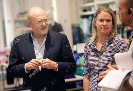 """Mickey Drexler This photo shows J. Crew CEO Millard """"Mickey"""" Drexler talking to employees at a J. Crew store in New York. Under his leadership, J. Crew has carved out a place in the fashion hierarchy that's just between trendsetter and accessible, and Drexler seems to like living in that space"""
