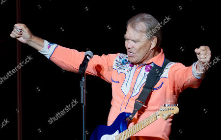 Editorial photo of Glen Campbell Homecoming, Little Rock, USA