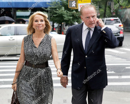 "Kathie Lee Gifford, Frank Gifford Television host Kathie Lee Gifford and her husband Frank Gifford arrive for the funeral of Marvin Hamlisch, in New York's Temple Emanu-El, . Hamlisch composed or arranged hundreds of scores for musicals and movies, including ""A Chorus Line"" on Broadway and the films ""The Sting,"" ''Sophie's Choice,"" ''Ordinary People"" and ""The Way We Were."" He won three Oscars, four Emmys, four Grammys, a Tony, a Pulitzer and three Golden Globes. Hamlisch died Aug. 6 in Los Angeles at age 68"