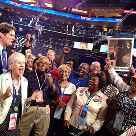 Biff Henderson Biff Henderson from Late Show with David Letterman fires up the crowd at DNC Charlotte #aponthetrail