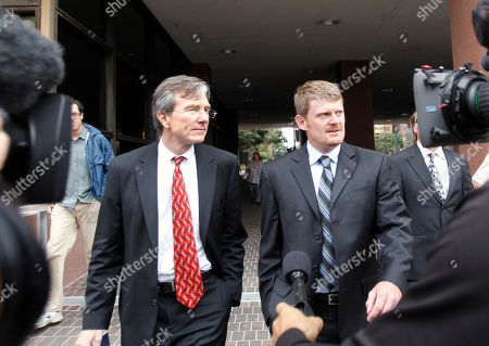 Floyd Landis, Leo Cunningham Floyd Landis, right, and his attorney, Leo Cunningham, leave federal court in San Diego, . Landis pleaded not guilty to wire fraud but made a deal with prosecutors who agreed to defer prosecution on condition he makes restitution to people from whom he raised money to fund his fight against doping charges