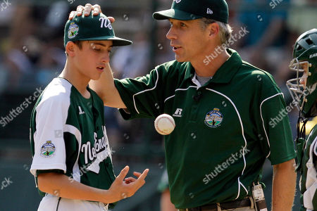 Editorial picture of LLWS California Connecticut Baseball, South Williamsport, USA