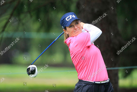 Stock Photo of Lorie Kane Lorie Kane drives on the 13th hole during the first round of the Jamie Farr Toledo Classic at the Highland Meadows Golf Club in Sylvania, Ohio