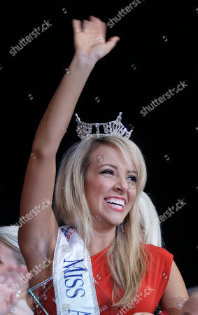 Editorial photo of Miss Arkansas, Hot Springs, USA