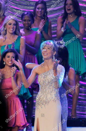 Marie Wicks Miss Mississippi 2012 Marie Wicks reacts after being named the winner during the televised scholarship pageant in Vicksburg, Miss