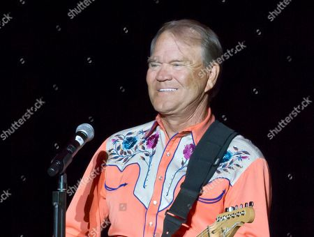 Editorial image of Music Glen Campbell, Little Rock, USA