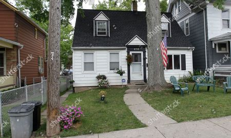 The home where 5-year-old Isabella Sarah Tennant had been staying with a relative is shown in Niagara Falls, N.Y., . Authorities said 16-year-old John Freeman and 18-year-old Tyler Best are scheduled to be arraigned Tuesday morning in Niagara Falls City Court in connection with the death of the 5-year-old New York girl. Police have charged Freeman as an adult, and he faces a murder charge. Best is charged with tampering with evidence
