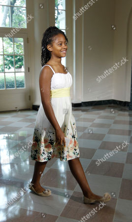 Haile Thomas Haile Thomas, 11, from Arizona, is seen arriving at the Booksellers entrance for the first ever Kids' 'State Dinner' luncheon, hosted by first lady Michelle Obama, in Washington