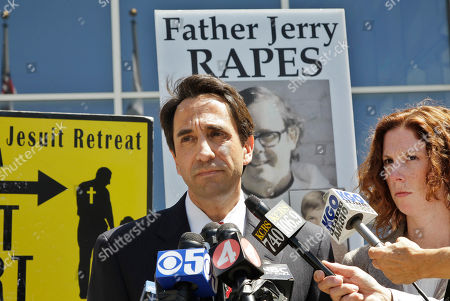 William Lynch, Jeff Rosen, Vicki Gemetti Santa Clara County District Attorney Jeff Rosen, left, and prosecutor Vicki Gemetti, right, speak during a news conference outside of a San Jose, Calif., courthouse after William Lynch was found not guilty of two felonies, . Lynch was accused of beating an aging priest who Lynch says molested him and his younger brother more than 35 years ago.Lynch faced felony charges of assault and elder abuse. Prosecutors say he beat the Rev. Jerold Lindner at a retirement home for priests in 2010