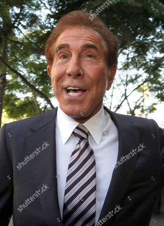 "Steve Wynn Casino mogul Steve Wynn arrives at court for his slander trial in Los Angeles. Wynn is contesting accusations made by ""Girls Gone Wild"" creator, Joe Francis"