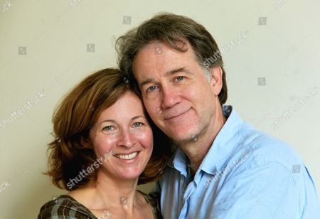 "This, photo shows the actors Boyd Gaines and Kathleen McNenny after rehearsals in New York for their new play, Manhattan Theatre Club's ""An Enemy of the People."" Gaines and McNenny met 20 years this summer and went on to marry, but they rarely get to act together. Now they do and even get to play a married couple as well"