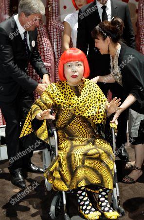 Editorial image of US Fashion Louis Vuitton Kusama, New York, USA
