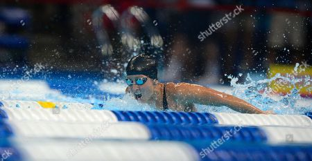 Stock Image of Kim Vandenberg Kim Vandenberg swims in the women's 200-meter butterfly preliminaries at the U.S. Olympic swimming trials, in Omaha, Neb