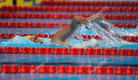 Chloe Sutton Chloe Sutton swims in the women's 800-meter freestyle preliminaries at the U.S. Olympic swimming trials, in Omaha, Neb