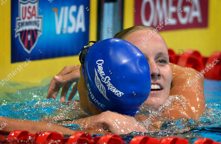 Jessica Hardy, Dara Torres Jessica Hardy receives a hug from Dara Torres, left, after winning the women's 50-meter freestyle final at the U.S. Olympic swimming trials, in Omaha, Neb