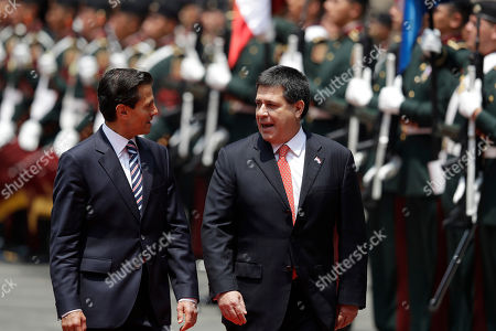 Editorial image of Bilateral agreements press conference, Mexico City, Mexico - 26 Aug 2016