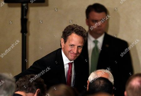 Tim Geithner Treasury Secretary Tim Geithner speaks at the Commonwealth Club in San Francisco