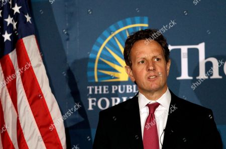 Tim Geithner Treasury Secretary Tim Geithner speaks at the Commonwealth Club in San Francisco, . Geithner said expanding opportunities for U.S. companies to export and sell to China, and encouraging Beijing to move away from an export-oriented growth model are central to that goal