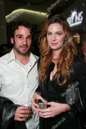 Stock Picture of Matthew Heller and Anne Dudek