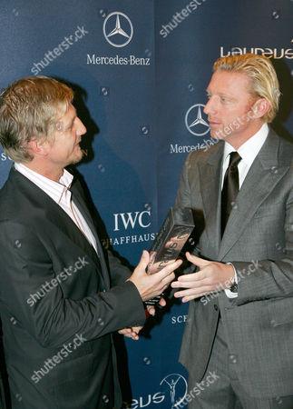 Soenke Wortmann and Boris Becker