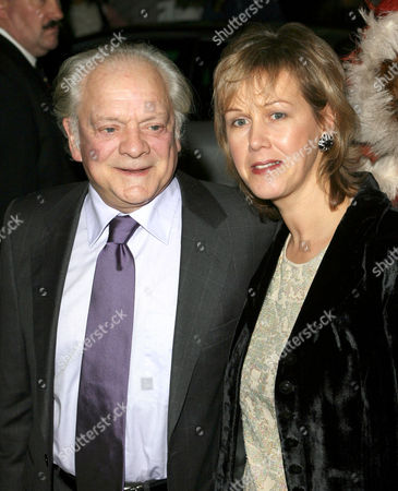 David Jason and Gill Hinchcliffe