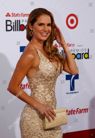 Stock Picture of Maritza Bustamante Actress Maritza Bustamante walks the red carpet at the Latin Billboard Awards in Coral Gables, Fla