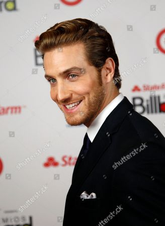 Eugenio Siller Show presenter Eugenio Siller poses during the Latin Billboard Awards in Coral Gables, Fla