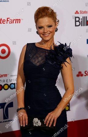 Ana Layevska Actress Ana Layevska walks the red carpet at the Latin Billboard Awards in Coral Gables, Fla