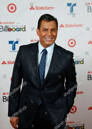 Daniel Sarcos Show host Daniel Sarcos poses during the Latin Billboard Awards in Coral Gables, Fla