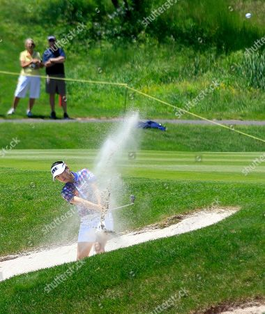 Sun Young Yoo Sun Young Yoo, of South Korea, hits from a sand trap on the 18th hole during a third round match against Stacy Lewis in the LPGA Sybase Match Play Championship golf competition at Hamilton Farm Golf Club in Gladstone, N.J., . Lewis won 1-up