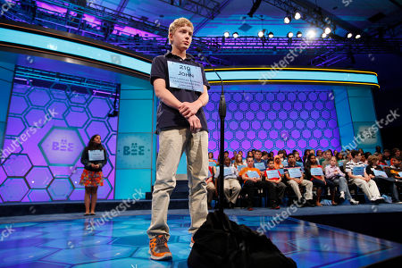 John Fulton John Fulton, 13, of Lancaster, Penn., spells his word during the National Spelling Bee in Oxon Hill, Md., on