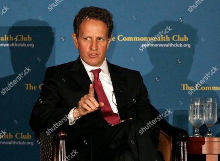 Tim Geithner U.S. Treasury Secretary Tim Geithner speaks in San Francisco. Geithner said expanding opportunities for U.S. companies to export and sell to China, and encouraging Beijing to move away from an export-oriented growth model are central to that goal. Both Geithner and Secretary of State Hillary Rodham Clinton will be attending strategic and economic talks in Beijing this week